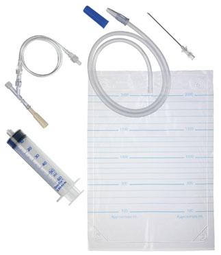 Набор для пункции плевральной полости Плеврофикс №1 с антирефлюксным клапаном