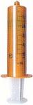 Оранжевый светонепроницаемый темный шприц 50 мл Terumo для введения с помощью шприцевых дозаторов  светочувствительных лекарственных препаратов с винтовым соединителем Луер-Лок